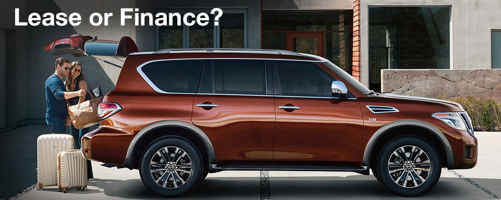 Lease or Finance a new Nissan?